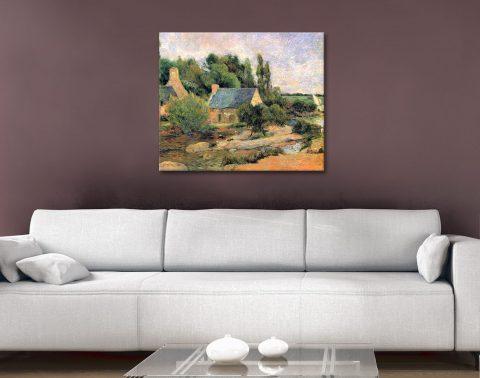 Buy Ready to Hang Gauguin Landscape Art AU
