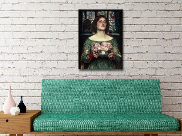 Buy Affordable Pre-Raphaelite Canvas Art