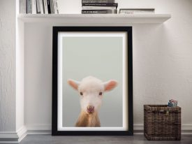 Buy an Enchanting Baby Sheep Framed Print