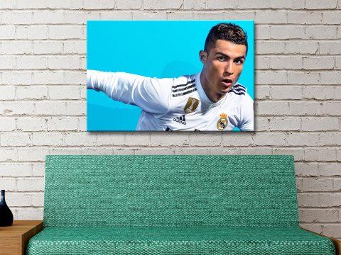 Buy Ready to Hang Football Memorabilia Art