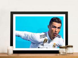 Buy Cristiano Ronaldo Wall Art Memorabilia