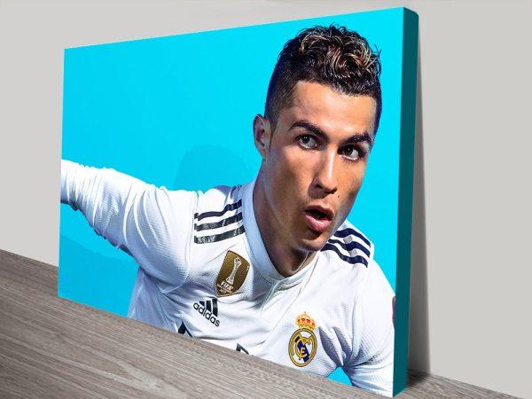 Buy Affordable Ronaldo Canvas Wall Art Online