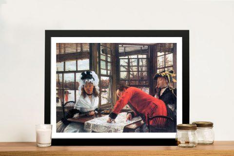 Buy An Interesting Story Framed Tissot Prints