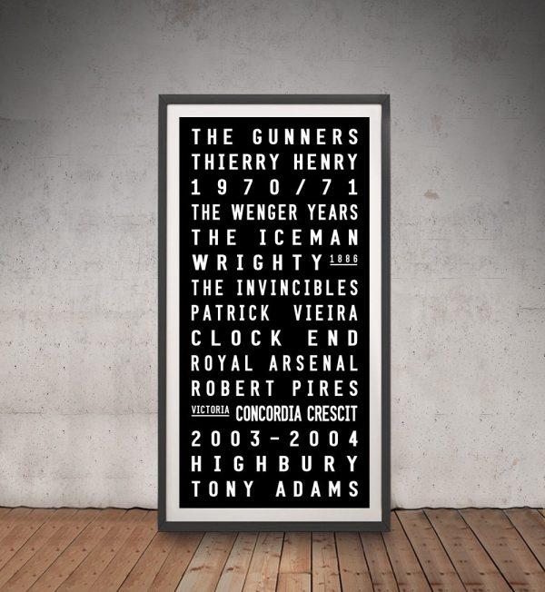 Arsenal FC Canvas Art Print Australia