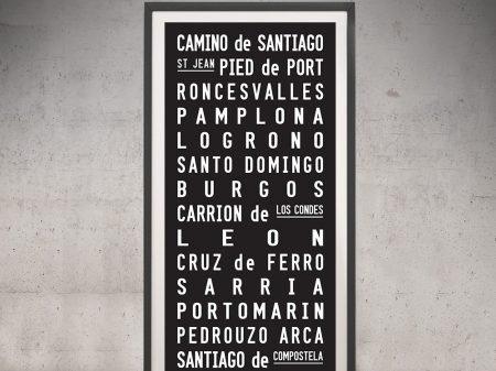 Buy a Camino de Santiago Pilgrimage Scroll