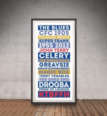 Chelsea FC Framed Wall Art