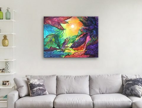 Buy Colourful Abstract Australian Artwork AU