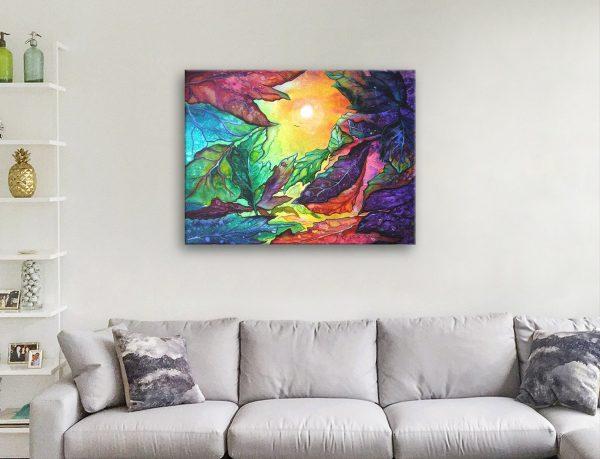 Buy Colourful Abstract Australian Artwork AU