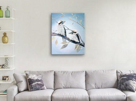 Buy a Framed Print of Cool Kookaburras