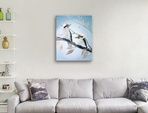 Buy a Framed Print of Cool Kookaburras