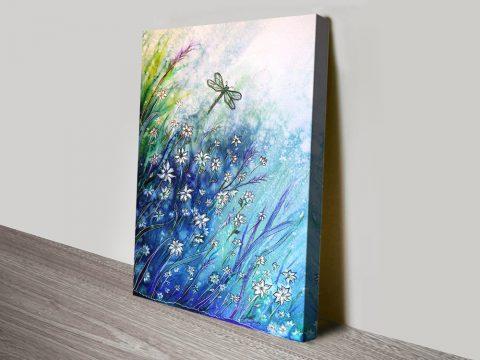 Buy Dainty Floral Australian Wall Art Online