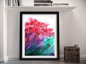 Buy a Dancing Poppies Print by Linda Callaghan