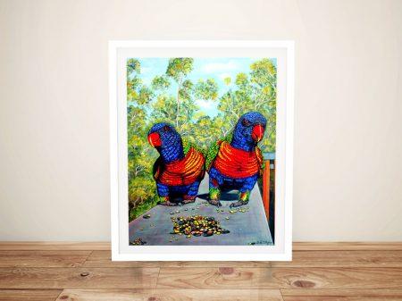 Buy a Vibrant Framed Print of Dinner Date
