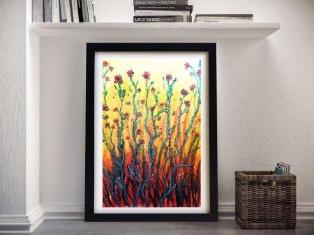 Buy Flower Light Wall Art by Linda Callaghan
