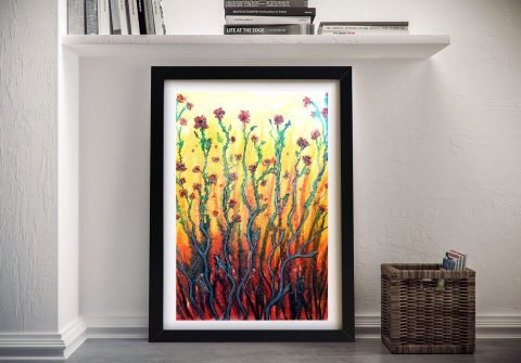 Buy Flower Light Wall Art by Linda Callaghan