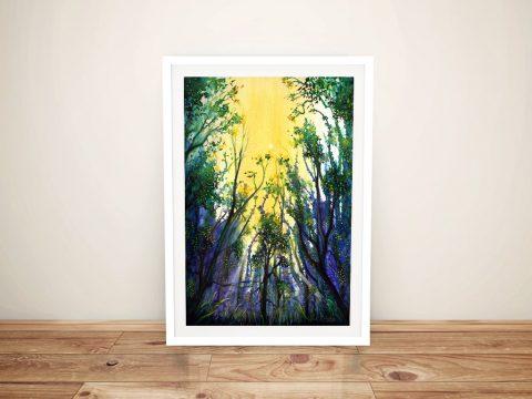 Buy Forest Light Canvas Landscape Wall Art