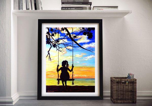 Buy Silhouette Canvas Art Great Gift Ideas AU