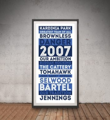 Geelong Cats AFL Framed Wall Art