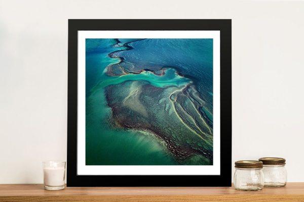Buy Green Delta Stunning Aerial Wall Art