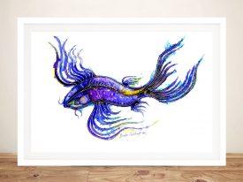 Buy a Koi Fish Watercolour Painting Print