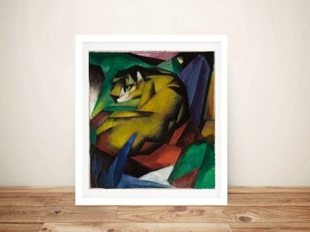 Buy a Stretched Canvas Print of The Tiger