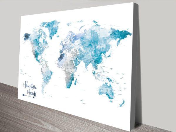 Buy Amazing Personalised World Maps Online