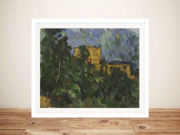 Buy a Print of Château Noir by Paul Cézanne
