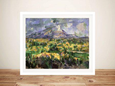 Buy Mont Sainte-Victoire Framed Wall Art