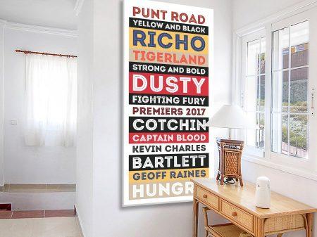 Richmond-Tigers-AFL-Retro-Art