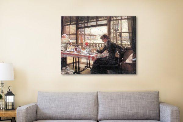 Buy Amazing Tissot Realism Wall Art Prints