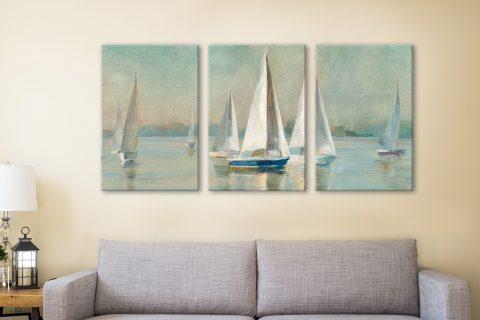 Buy Beautiful Seascape 3-Panel Artwork Online