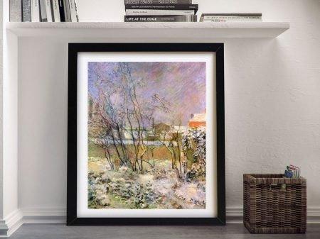 Buy a Gauguin Print of Snow in Rue Carcel