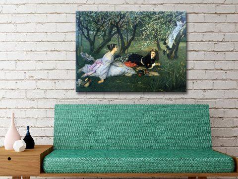 Buy Affordable Springtime Canvas Art AU