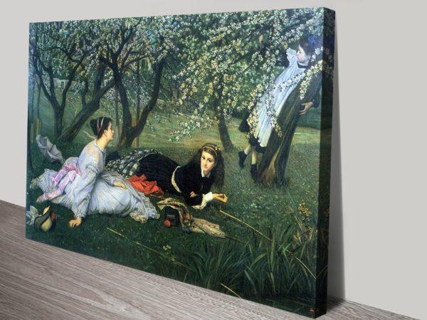 Buy Beautiful Tissot Canvas Art Cheap Online