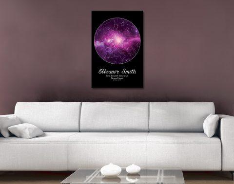 Buy Stunning Custom Star Chart Wall Art AU