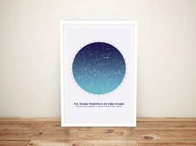 Create Your Own Custom Star Map‎ Wall Art Online