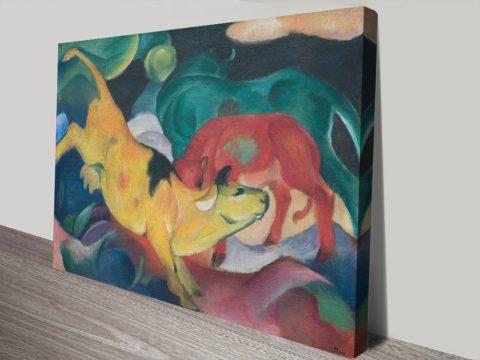 Buy Franz Marc Cubist Art in Our Online Sale