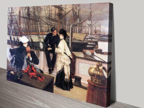 Buy Beautiful Tissot Wall Art Prints Gift Ideas AU