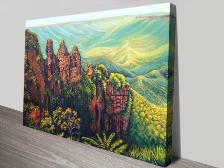 Buy Timeless Blue Mountains Framed Artwork