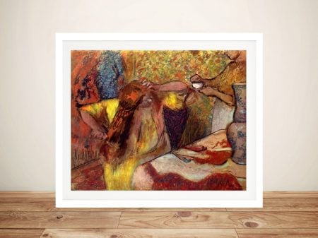 Buy Woman at her Toilette Classic Wall Art