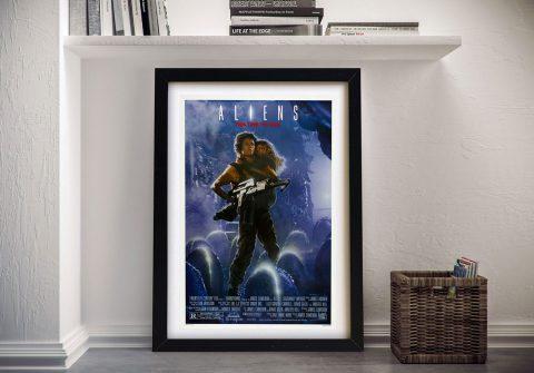 Buy an Aliens Framed Movie Poster Print