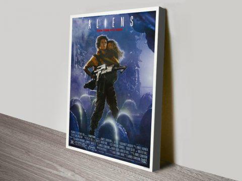 Buy Fantastic Movie Art for the Film Aliens