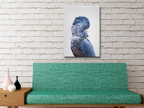 Buy a Pretty Blue Cockatoo Framed Print