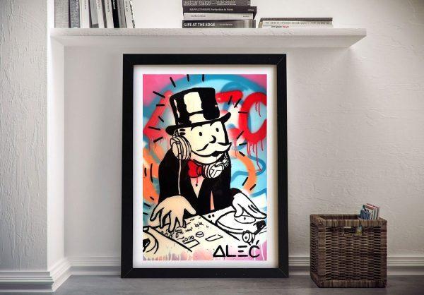 Alec-Monopoly-DJ-Street-Art-Canvas-Print