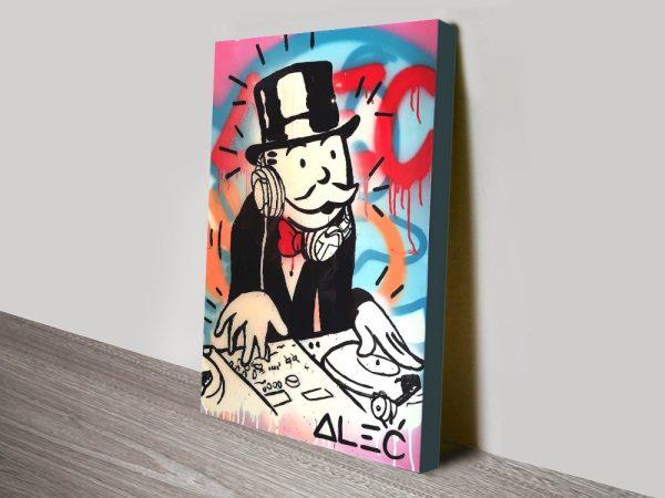 Buy Alec Monopoly DJ Street Art