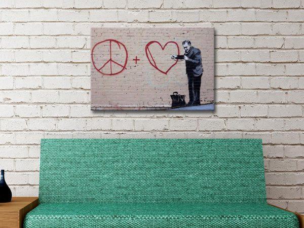 Buy Ready to Hang Banksy Doctor Wall Art