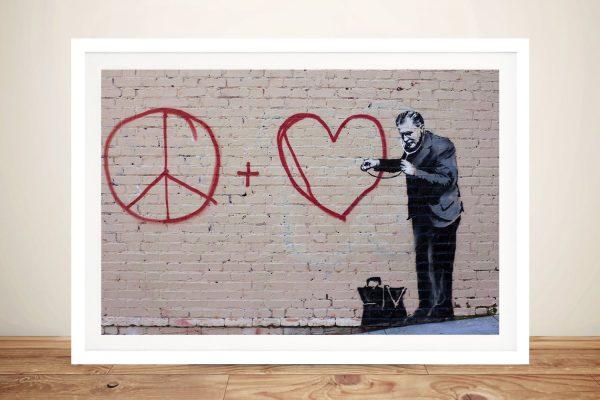 Buy Cool Framed Banksy Prints Gifts For Guys AU