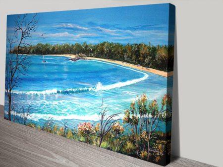 Buy a Beach View Linda Callaghan Art Print