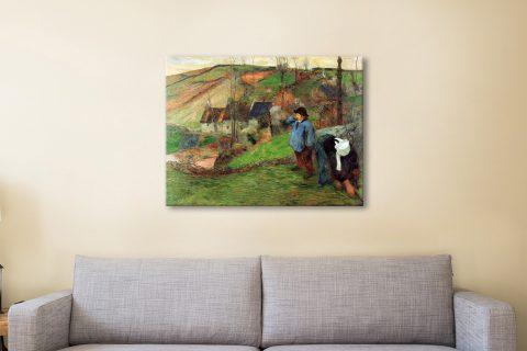 Buy Classic Gauguin Landscape Canvas Art