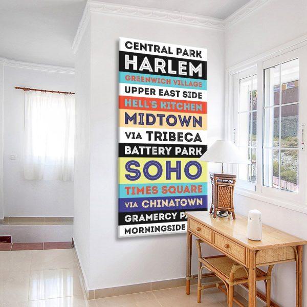 Buy Central Park Vintage Style Tram Banner Art